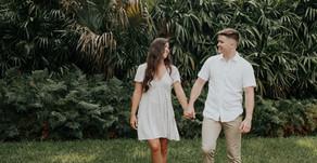 Bok Tower Gardens Engagement Photoshoot | Lake Whales, Florida