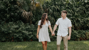 Bok Tower Gardens Engagement Photoshoot | Lake Whales, Florida