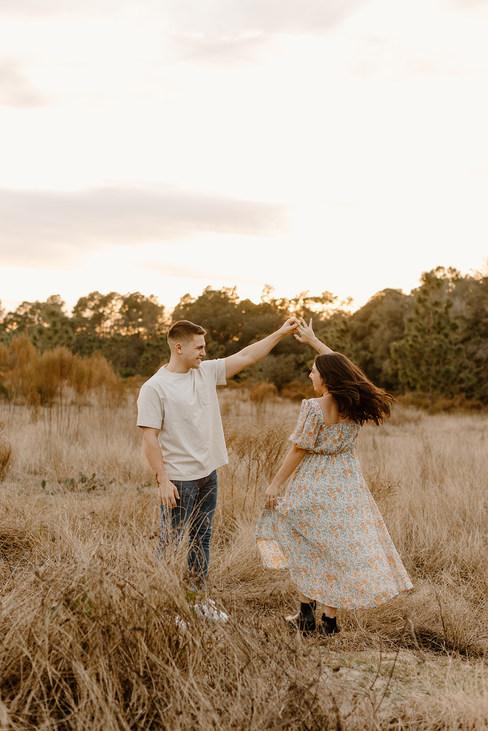 Orlando Engagement Photoshoot