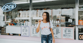 Tampa Blogger Photoshoot | Ice Cream Shop