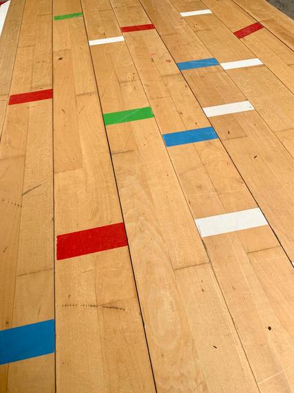 Junckers Beech Sports Flooring