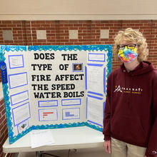 Does the Type of Fire Affect the Speed Water Boils?