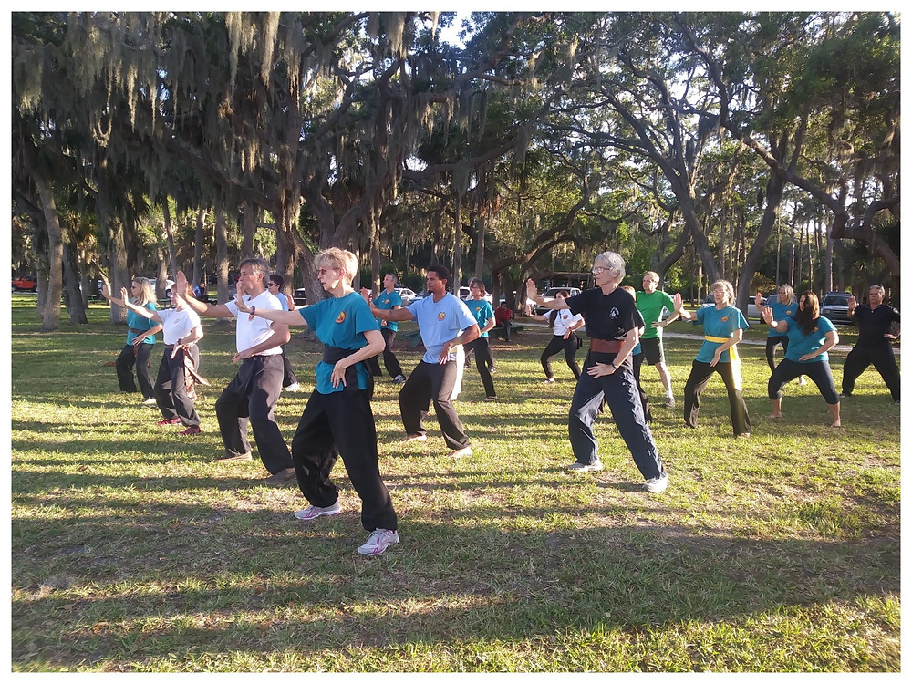 keep the spirit alive with QiGong exercises.