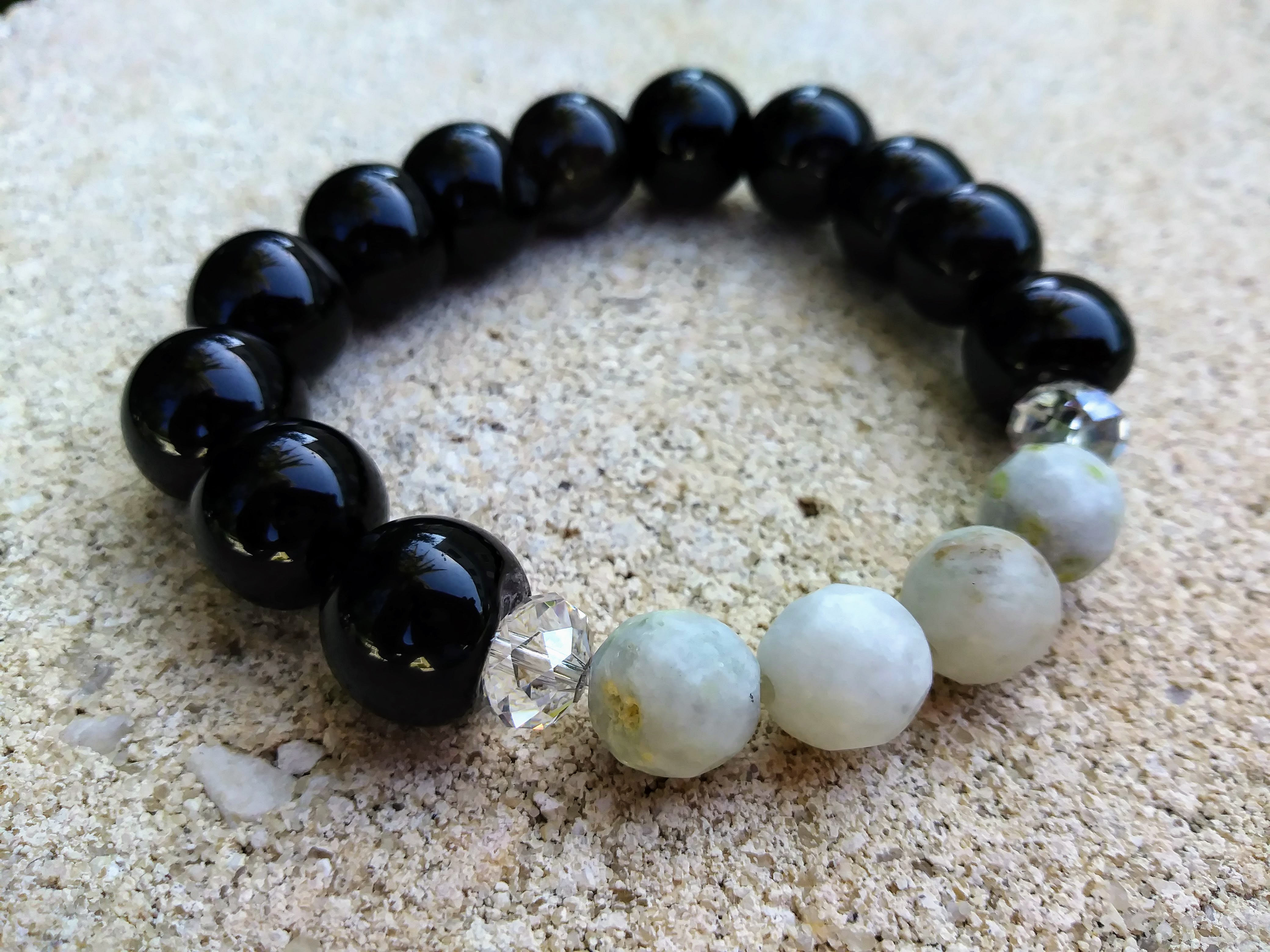 """Black Agate """"Protection & Wealth"""""""