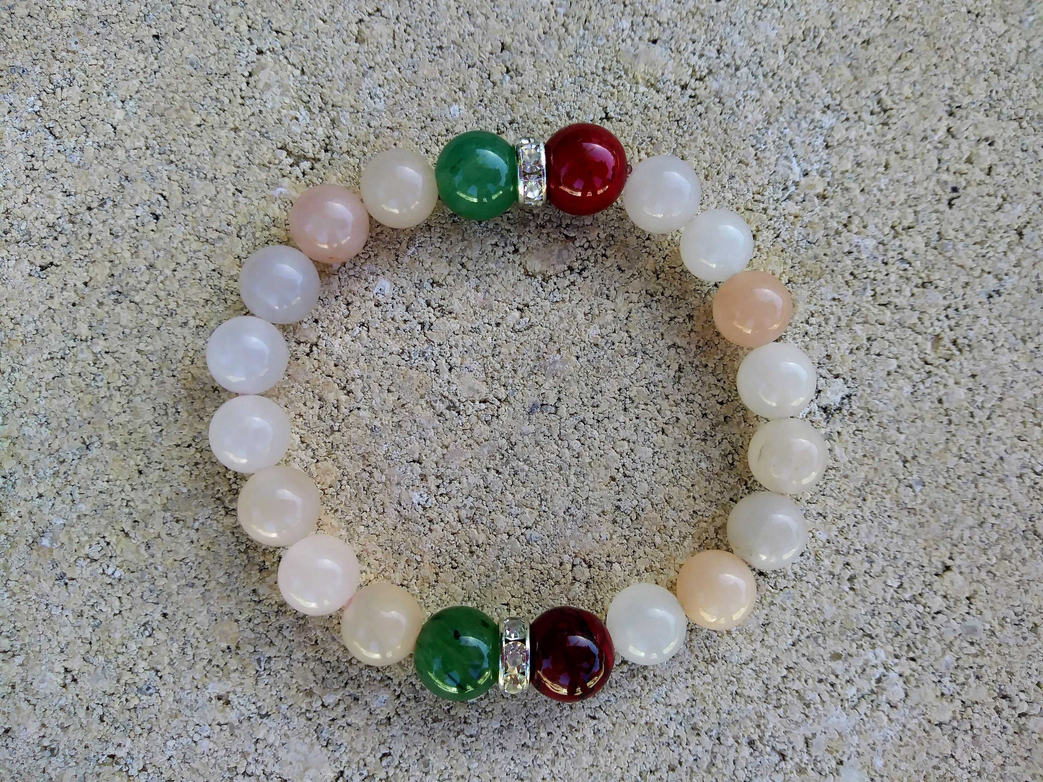"""""""Adonis"""" Rose Quartz Bracelet."""