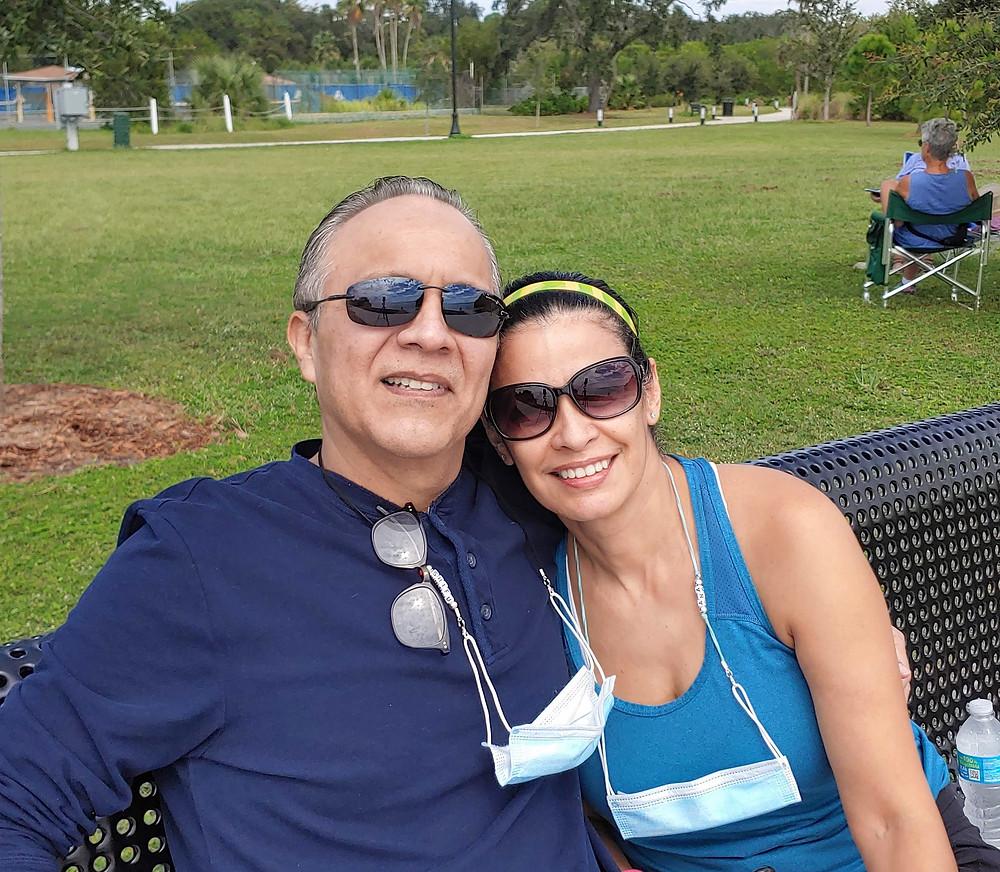 Shifu Orlando and his wife Simo Ana Tosta