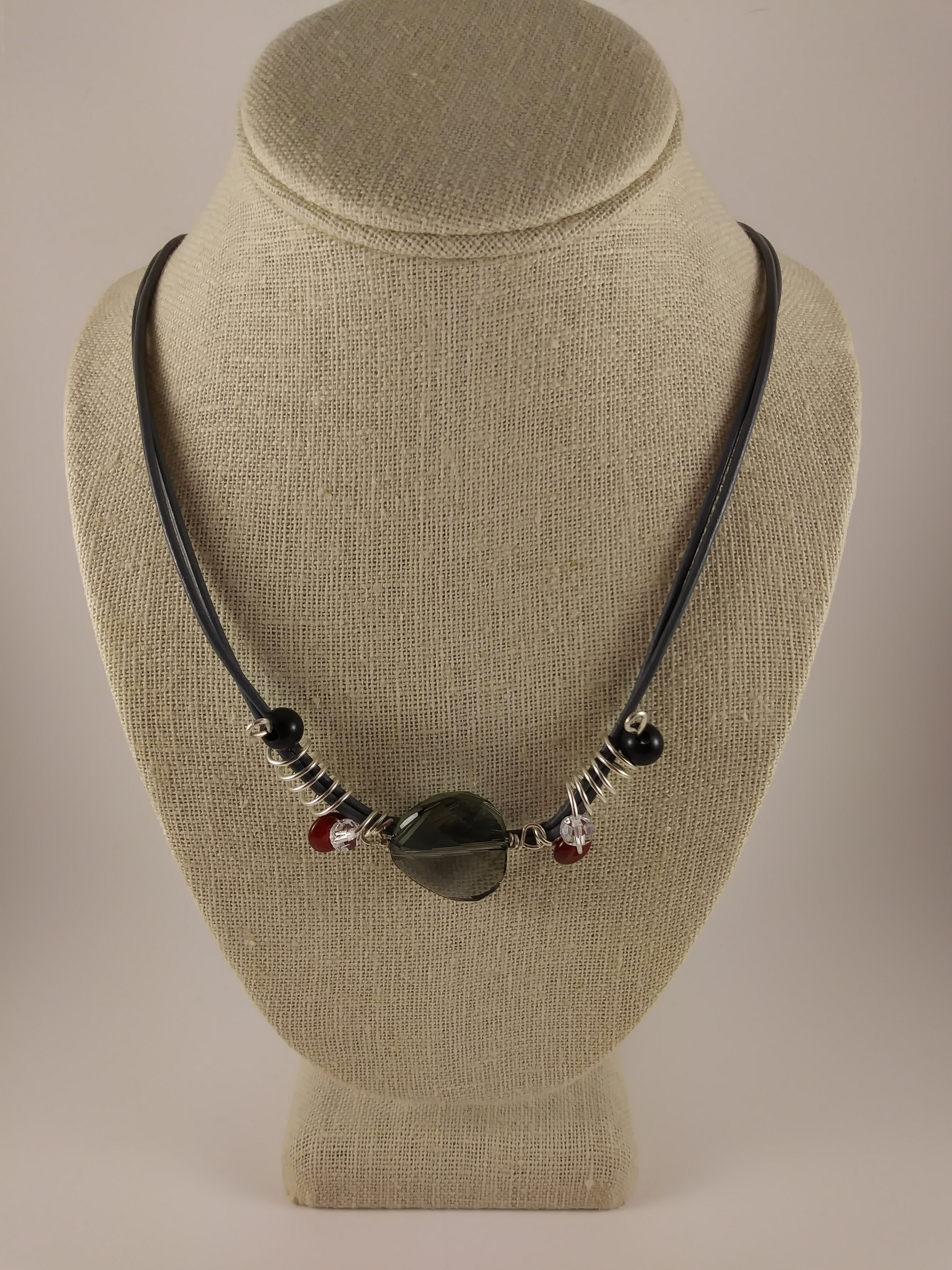 """Tunnel of Love"" necklace"