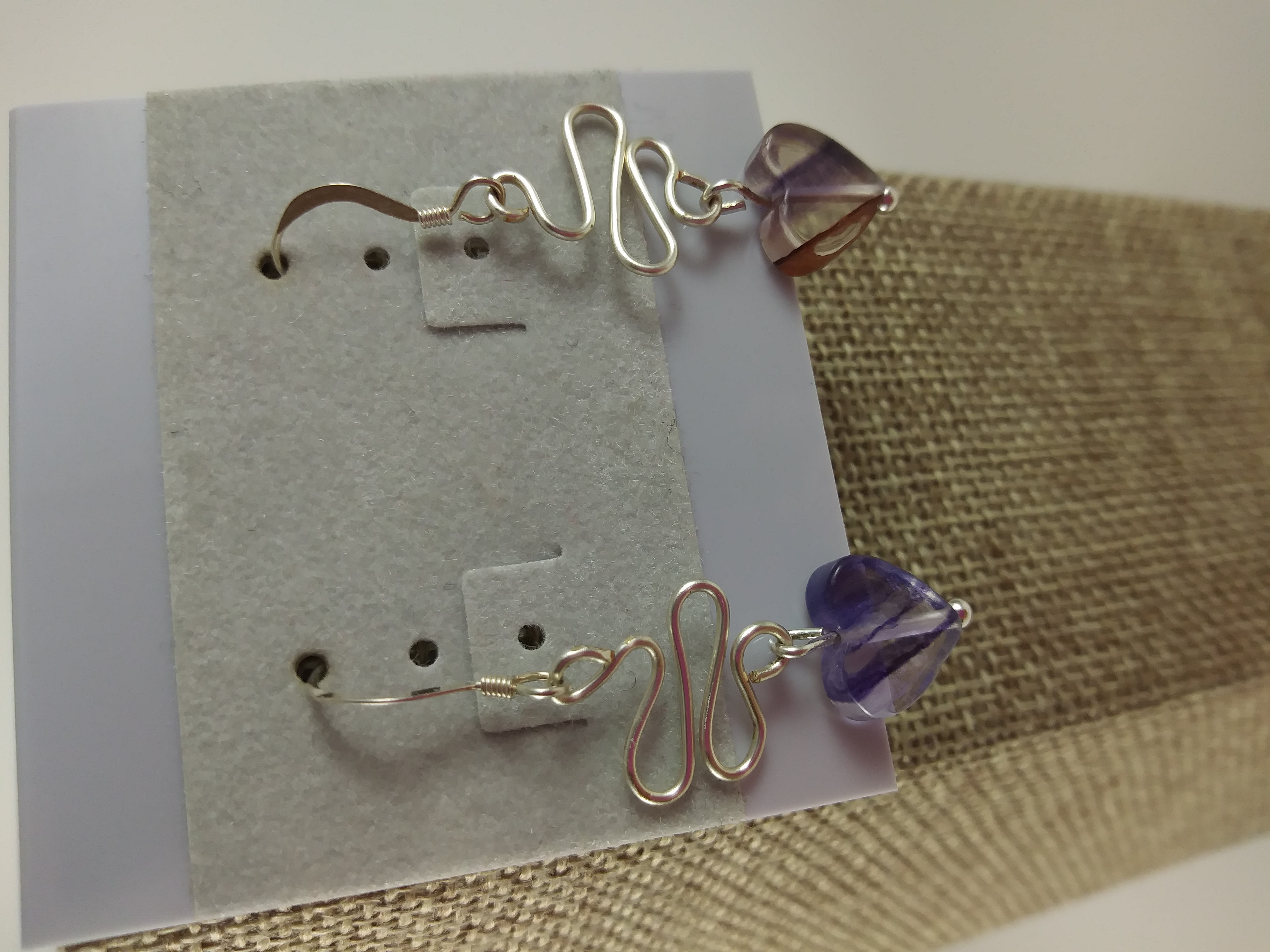"""Way to your Heart"" earrings"