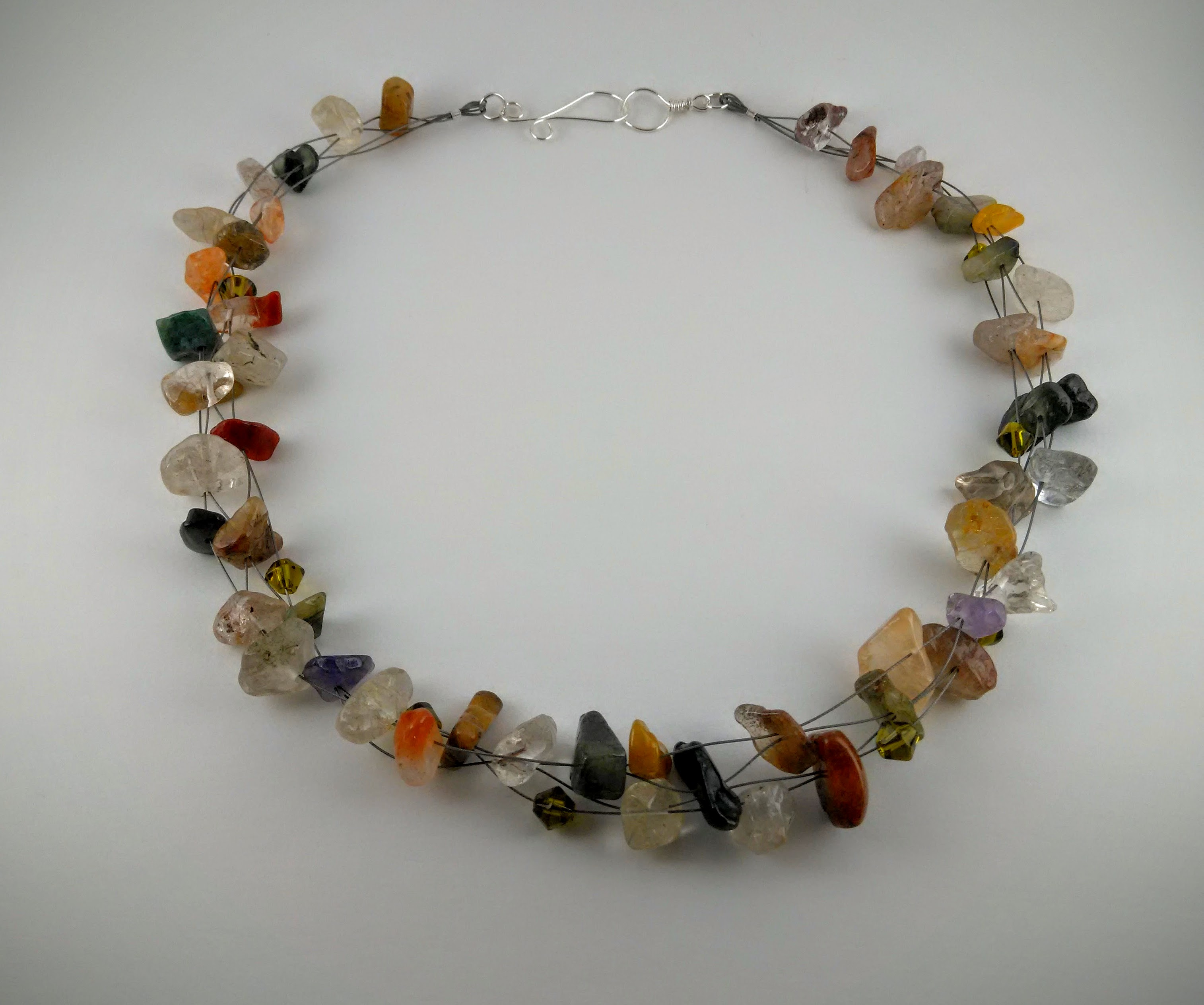 """Healing Rainbow"" necklace"