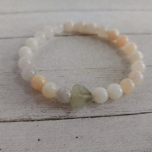 Pink Aventurine Stress Relief Bracelet for Kids