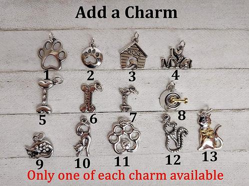 Add Pet Charm to any Bracelet