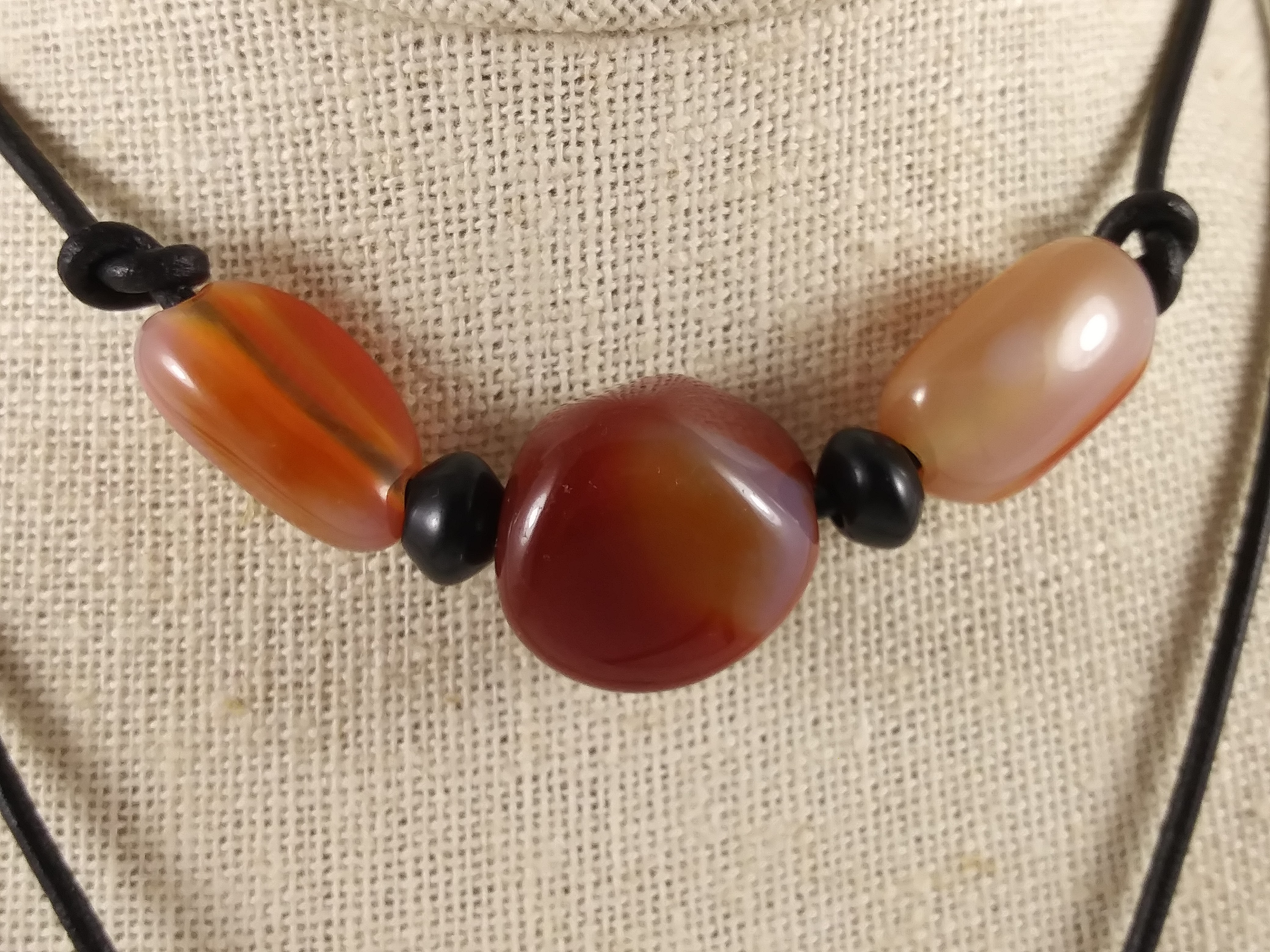 """Red Agate """"Strength & Hope"""""""