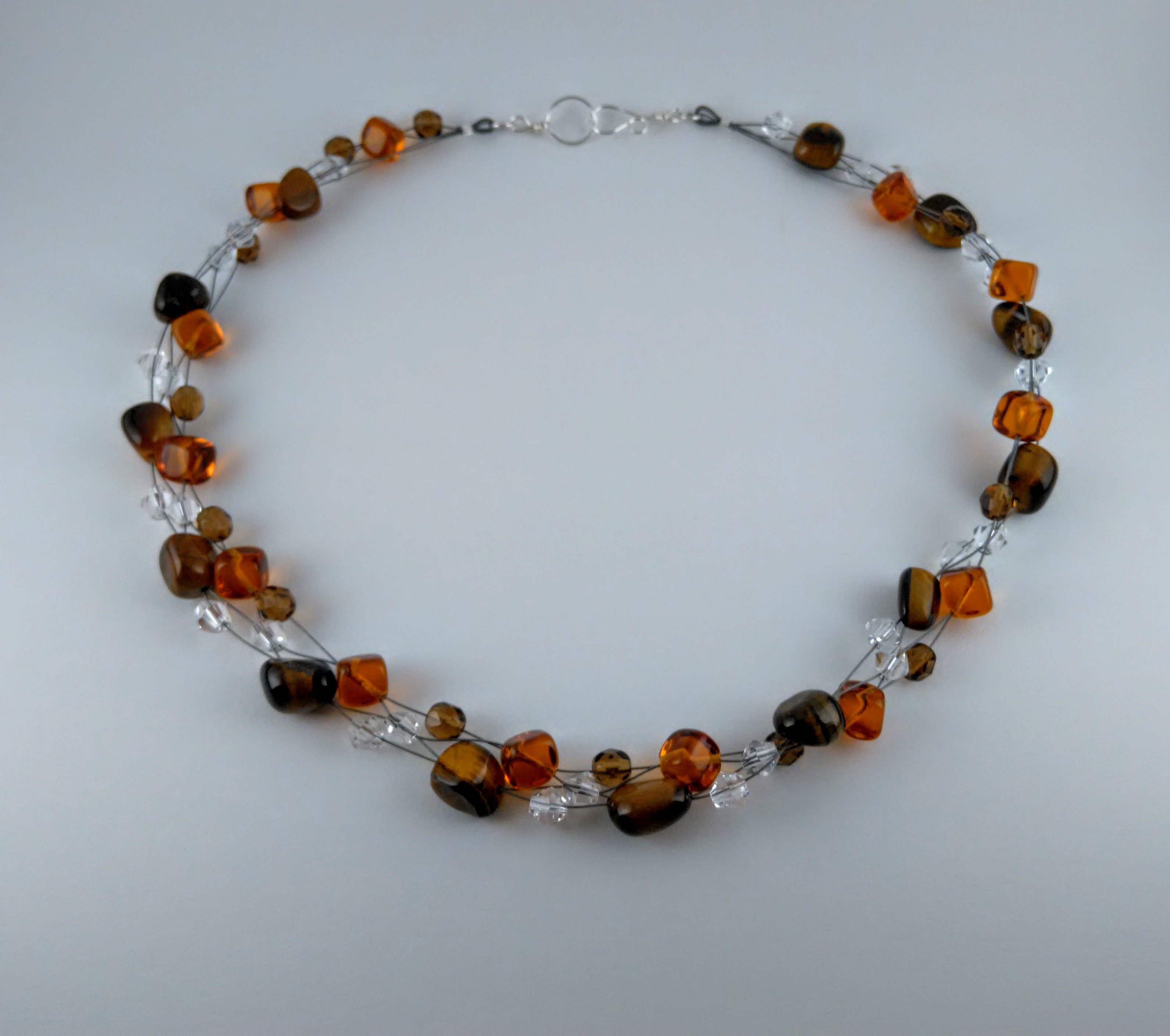 """Clear Thinking"" Illusion necklace"