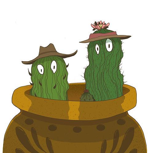 Cactus Sticker (Small)