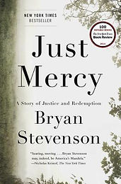 "Book Recommendation:  ""Just Mercy"""