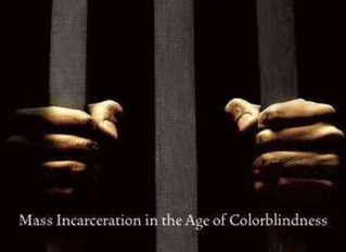 """Book Recomendation:  """"The New Jim Crow:  Mass Incarceration in an Agoe of Colorblindness"""""""