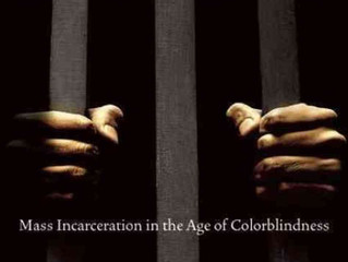 "Book Recomendation:  ""The New Jim Crow:  Mass Incarceration in an Agoe of Colorblindness"""