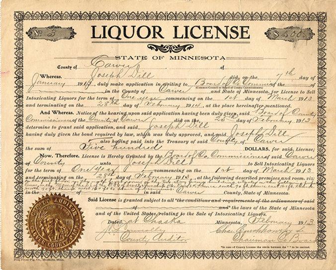 Distillery Liquor License - DistilleryCo