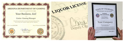 Alcohol, Gaming Licensing