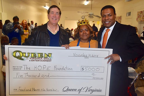 Queen of Virginia Skill Gives Back