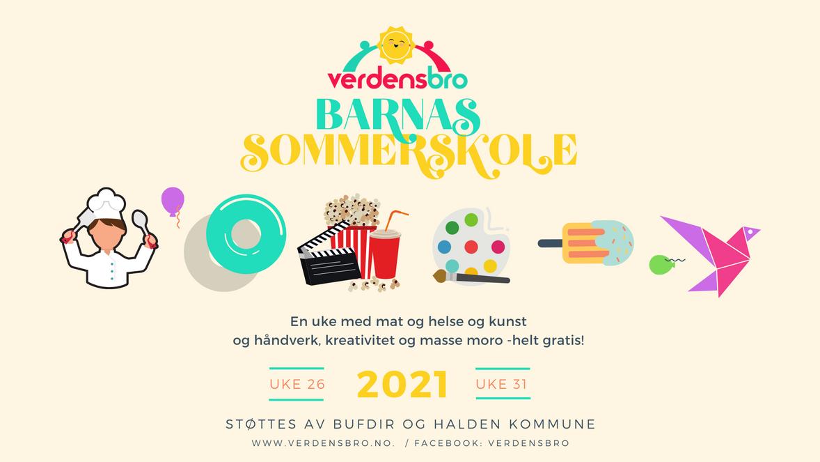 FB Event cover Barnas Sommerskole 2021 v