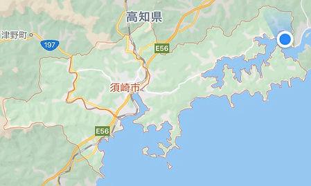 ドラゴンサーモン 由来 須崎市 地形図.jpg
