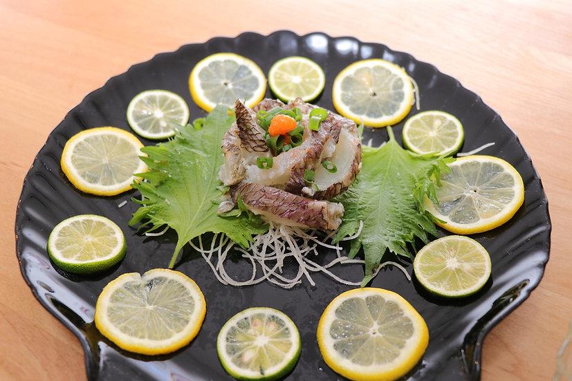カツオのタタキと乙女タイタタキ食べ比べセット(冷凍)