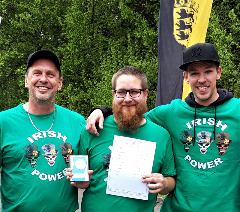 "Grümpelturnier am 19.05.2019 ""Irish Pub 1"": Platz 3"