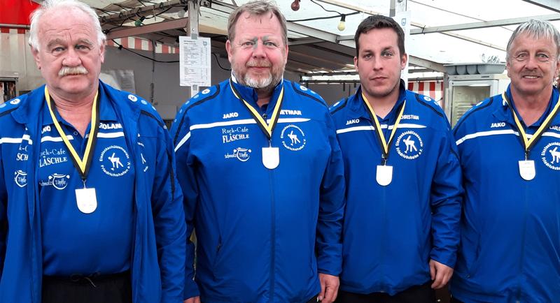 In der 2. Bundesliga Südwest ESV Friedrichshafen: Platz 2