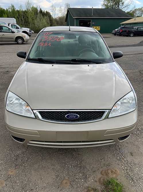 2007 FORD FOCUS SES 133K LOW MILES 4 CYLINDER AUTO