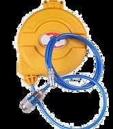 retractable cord reel box