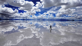 Highlights of Salar de Uynui-A (esta pic
