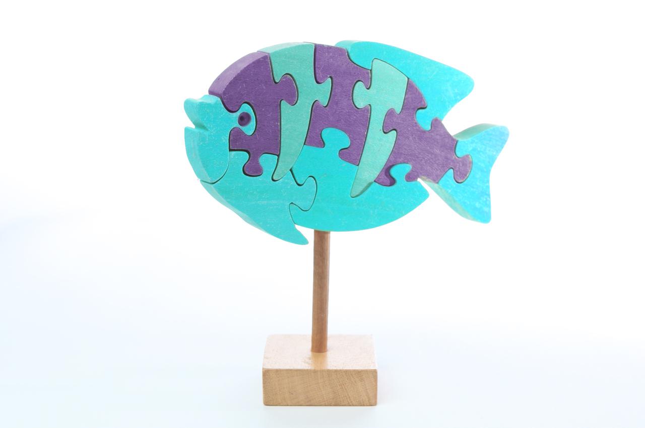 Blue Fish Puzzle