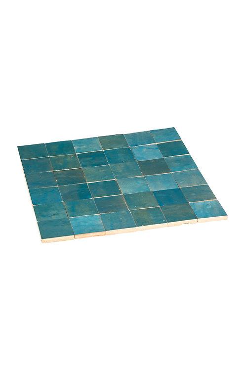 Zelliges Lazuli - 5 x 5 x 1.2 cm