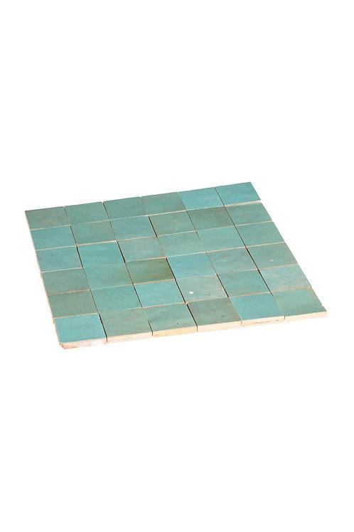 Zelliges Maldive - 5 x 5 x 1.2 cm