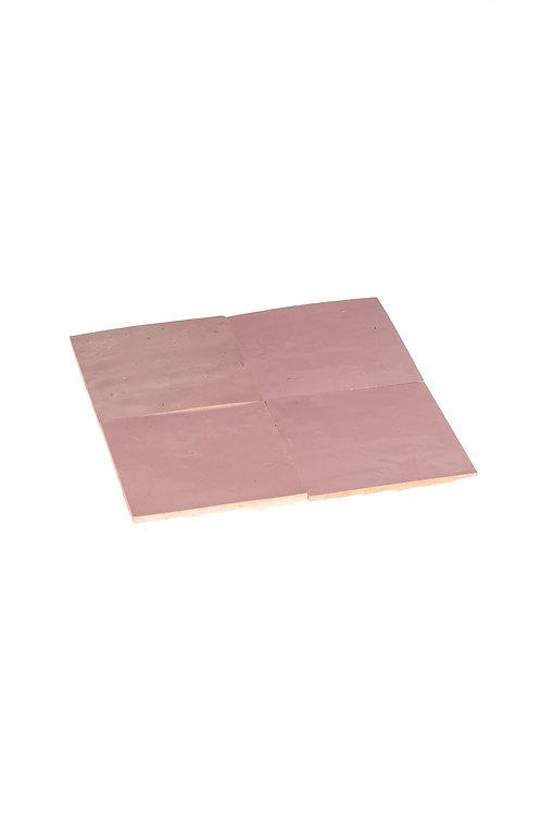 Zelliges Parme - 10 x 10 x 1.2 cm