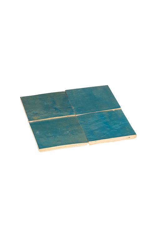 Zelliges Lazuli - 10 x 10 x 1.2 cm