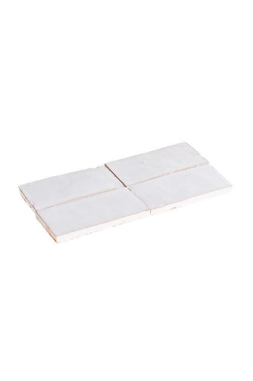 Bejmat Blanc Neige - 15 x 7.5 x 1.2cm