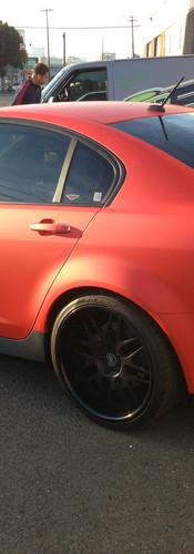 Pontiac G8 Color Change Wrap
