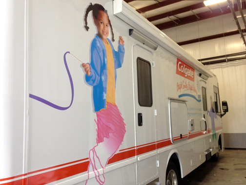Colgate Mobile Dental Unit