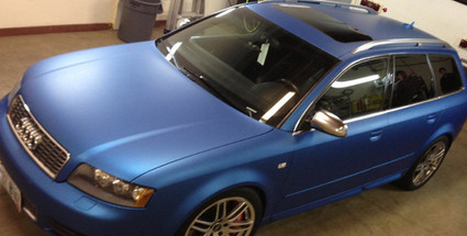 Audi A4 Color Change