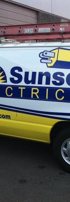 SUNSET HEATING/ELECTRICAL FLEET GRAPHICS