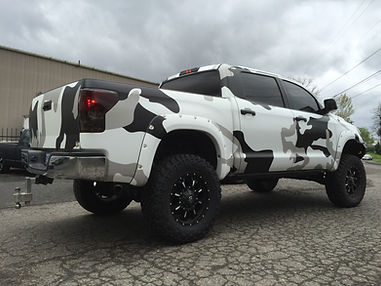Toyota Tundra Camo Wrap