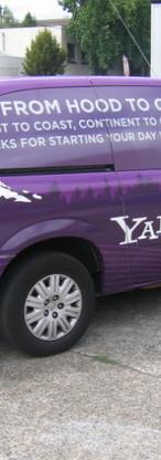 YAHOO HOOD TO COAST VAN WRAP