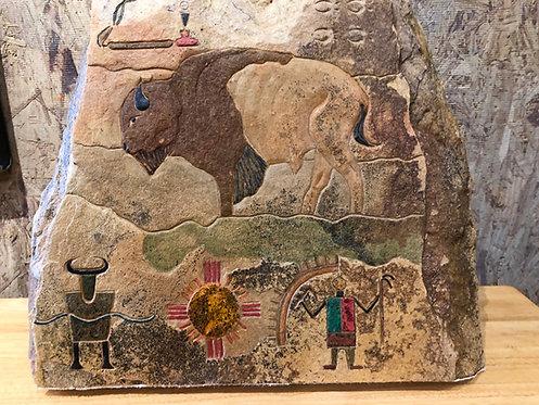 Buffalo In Relief