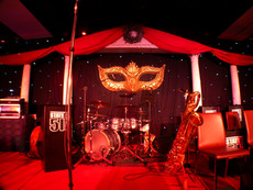 Large Masquerade Mask Prop Hire - Staging Services