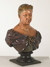 Queen Vic Bust prop hire - staging services
