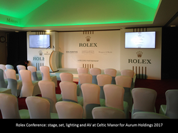 Rolex Conference Celtic Manor
