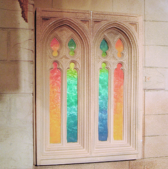 Medieval Event Theming - Stained Glass Windows