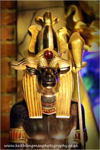 Egyptian Entrance Feature Prop Hire - Staging Services